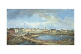 View of Stockholm from the Royal Palace, 1801 Giclee Print by Elias Martin
