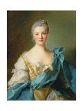 Madame De La Porte Giclee Print by Jean-Marc Nattier