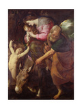 The Flight into Egypt, C.1600-10 Giclee Print by Giovanni Battista Crespi