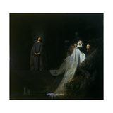 The Raising of Lazarus, 1631 Giclee Print by Jan The Elder Lievens