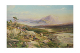 End of the Shoot, Loch Maree Giclee Print by Thomas Miles II Richardson