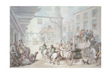 The Post Chaise Giclee Print by Thomas Rowlandson