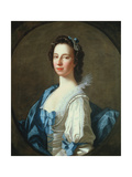 Portrait of Susanna Campbell, 1749 Giclee Print by Allan Ramsay