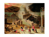 The Destruction of the Tower of Babel Giclée-Druck von Hendrick Van Cleve