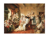 Before the Wedding, 1890 Giclee Print by Konstantin Egorovich Makovsky