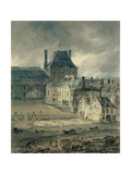 The Palace of the Louvre, 1801-2 Giclee Print by Thomas Girtin