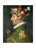 Spring Giclee Print by Giuseppe Arcimboldo