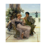 Courtship (The Proposal) 1892 Giclee Print by Sir Lawrence Alma-Tadema