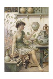 The Potter's Daughter Giclee Print by William Stephen Coleman