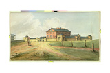 Hyde Park Barracks, Sydney, C.1820 Giclee Print by Joseph Lycett