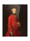 Portrait of Robert Shafto, Called 'Bonnie Bobbie Shafto' Giclee-trykk av Sir Joshua Reynolds
