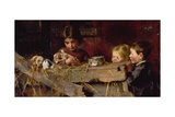 Childhood's Treasures Giclee Print by Marianne Stokes