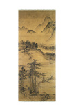Mountainous Landscape Giclee Print by  Sheng Tzu-Chao