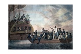 The Mutineers Turning Lieut. Bligh and Part of the Officers and Crew Adrift from His Majesty's… Giclee Print by Robert Dodd