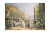 The Stoppage of the Bank, C.1827 Giclee Print by Rolinda Sharples