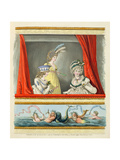 Opera Dresses from Nikolaus Heideloff's 'Gallery of Fashion' Vol II, June 1796 Giclee Print by Nicolaus von Heideloff