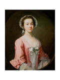 Portrait of a Lady, Said to Be Mrs Ann Bowney Giclee Print by Rev. James Wills