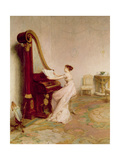 'Music When Soft Voices Die, Vibrates in the Memory' (Shelley) Giclee Print by Sir William Quiller Orchardson