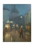 A Steady Drizzle Giclee Print by Norman Garstin