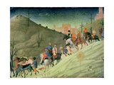 The Journey of the Magi Giclée-tryk af Sassetta