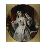 The Wedding Dress Giclee Print by Abraham Solomon