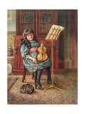 Dora Petherick, 1892 Giclee Print by Rosa Petherick
