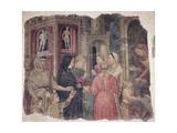 Capitani Della Misericordia, 1386 (Detail) Giclee Print by Niccolo di Pietro Gerini