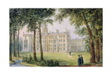 West Front of the New Building of St. John's College, Cambridge Giclee Print by Richard Bankes Harraden