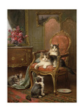 The Favourite Chair Giclee Print by Leon-charles Huber