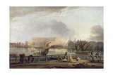 View of Stockholm Palace from Blasieholmen Giclee Print by Elias Martin