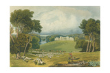 View of Holkham Hall, Norfolk, Engraved by Robert Havell (1769-1832) 1818 Giclee Print by Elizabeth Blackwell