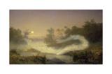 Dancing Fairies, 1866 Giclée-Druck von August Malmstrom