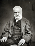 Victor Hugo (1802-85) 1880 Photographic Print by Etienne Carjat