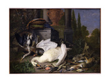 Still Life with Dead Birds, 1668 Giclee Print by Pieter Gysels