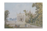 Gothic Chapel in the Ducal Park Near Weimar, 1798 Giclee Print by Georg Melchior Kraus