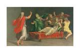 The Raising of Drusiana Giclee Print by Girolamo Mazzola Bedoli