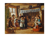 The Cottage School Giclee Print by Alfred Rankley