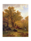Autumn Stroll Giclee Print by Alfred Thompson Bricher