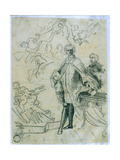 Sketch of Carlo Broschi 'Il Farinelli' (1705-82) Giclee Print by Jacopo Amigoni