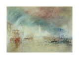 View of Venice from La Giudecca Giclee Print by J. M. W. Turner