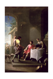 Esau Sells His Birthright to Jacob, 1790-1800 Giclée-Druck von Zacarias Gonzalez Velazquez