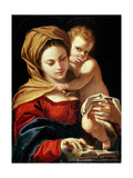 Madonna and Child Giclee Print by Sisto Badalocchio
