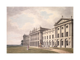 View of Heveningham Hall in Suffolk, the Seat of Sir Gerrard Vanneck, 18th Century Giclee Print by Thomas van der Wilt