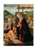 The Nativity (Post Cleaning) Giclee Print by Domenico Ghirlandaio