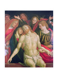 The Dead Christ with the Virgin and Saints Giclée-tryk af Gaudenzio Ferrari