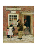 The Village Shop, 1887 Giclee Print by James Charles
