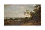 View in Mount Merrion Park, 1806 Giclee Print by William Ashford