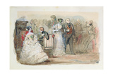 A Reception During the Reign of Louis-Philippe (1830-48) 1832 Giclee Print by Eugene-Louis Lami