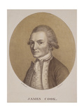 Captain James Cook, Engraved by Josef Selb, C.1820 Giclee Print by John Webber