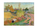 Landscape at Arles, 1888 Giclee Print by Paul Gauguin